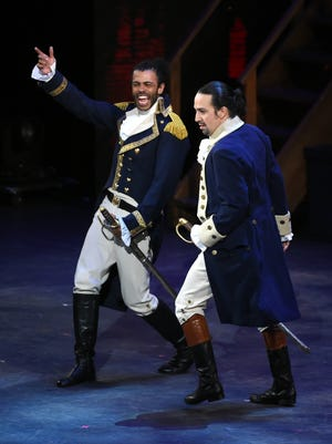 And so the balance shifts in favor of new blood: Daveed Diggs will exit 'Hamilton' this Friday.