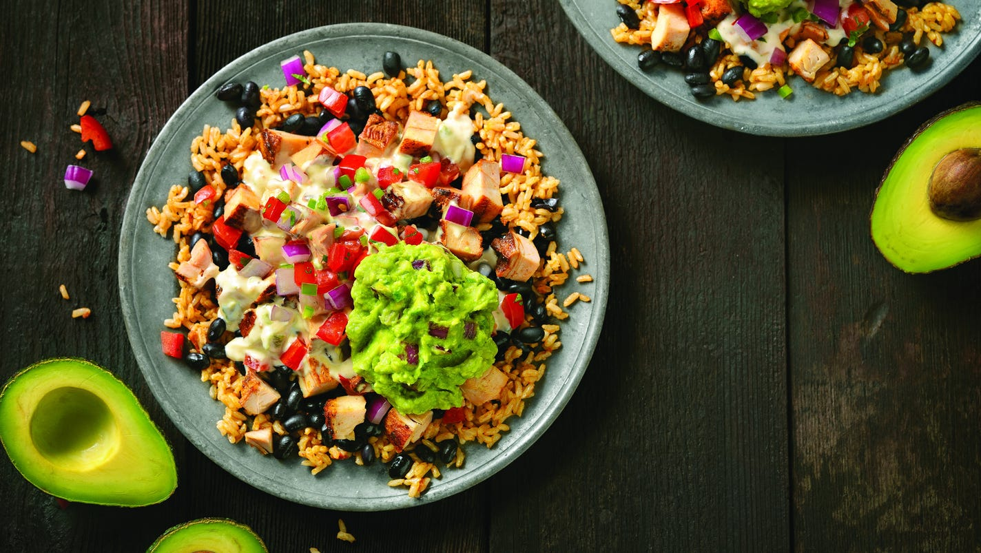 Homemade Mexican Xxx within free 'extras' now on menu at qdoba
