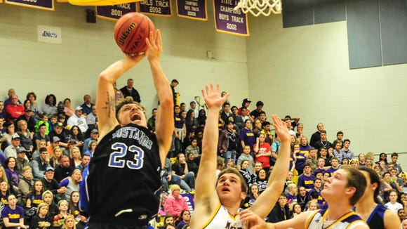 Austin Baumgarner and the Smoky Mountain boys will have a new basketball coach for next season.