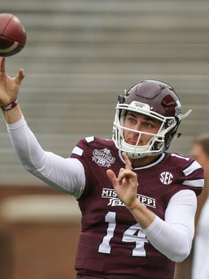Mississippi State quarterback Nick Tiano will leave the program to return home and play at UT-Chattanooga.