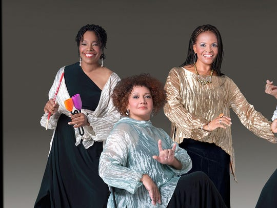 Sweet Honey in the Rock sings Dec. 4 at the Flynn Center.