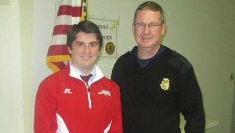 Cort Radford, left, has resigned after three years as Erwin's baseball coach.