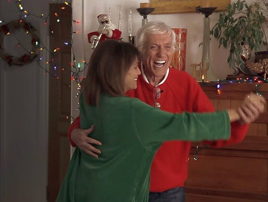 Valerie Harper and Dick Van Dyke in Merry Xmas, 2015