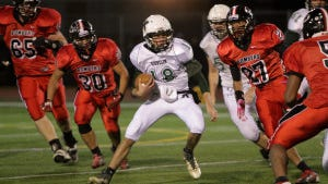 Kinnelon QB Kyle Presti (Staff file photo by by Karen Fucito)