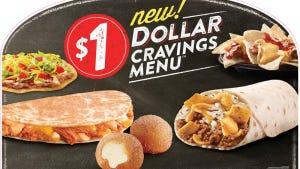 Taco Bell Dollar Cravings