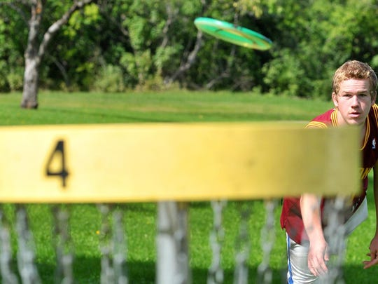 Merrill's new mayor has pushed for the creation of a disc golf course in the city to attract young people to live there.