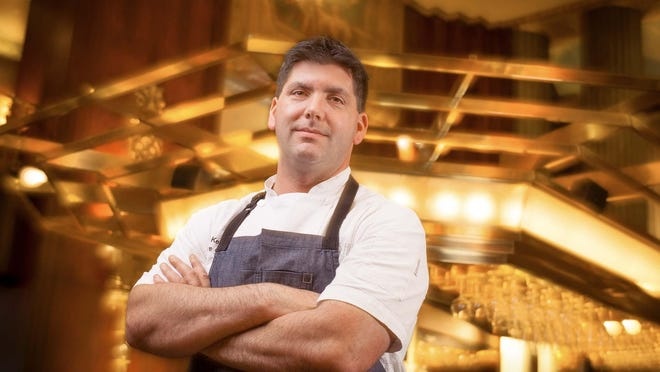 Todd Kelly, executive chef and Food and Beverage Manager at The Hilton Cincinnati Netherland Plaa