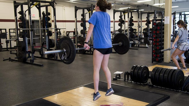 WT will be following the state guidelines for fitness centers - and then some. Social distance guidelines are 150 square feet of space per person. WT, with a maximum of 19 using the weight room at one time, have around 400 square feet per person.