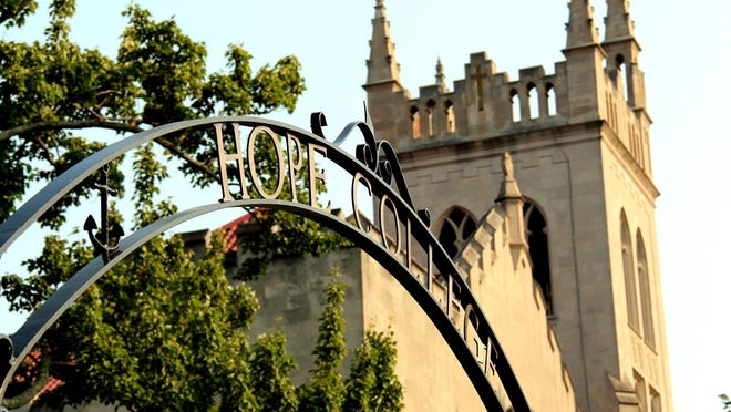 Hope College announced it will start the 2020 fall semester on Monday, Aug. 17.