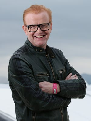 Co-host Chris Evans announced Monday that he's quitting BBC's 'Top Gear.'