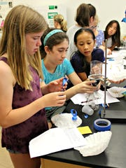 Ursuline Academy's annual Summer STEAM Academy has been running for the past two weeks.