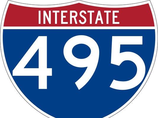 I-495 sign