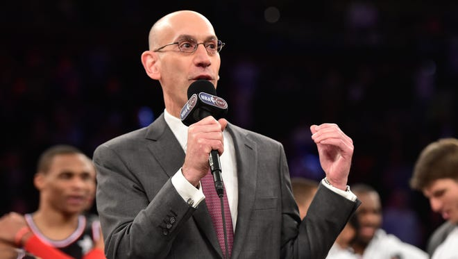 NBA commissioner Adam Silver said the evolution of social media has affected fan voting for the NBA All-Star Game enough that the league will reevaluate the current system.