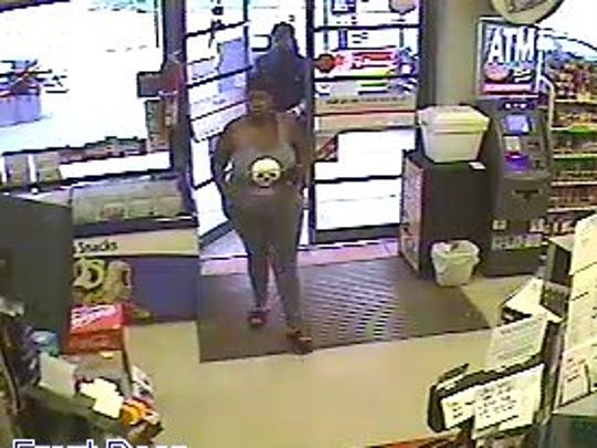 Mickey Mart man and woman suspects