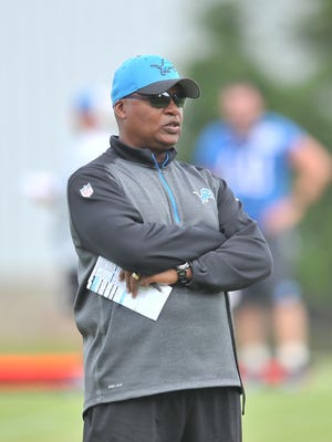 Lions coach Jim Caldwell has worked under five coaches who have won national or Super Bowl titles since 1982. Detroit is his third head coaching stop.
