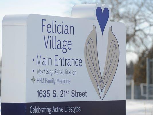 Felician Village sign.jpg