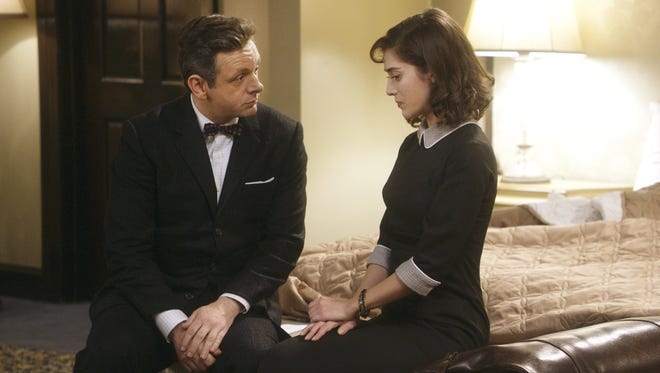 Michael Sheen and Lizzy Caplan return for Season 2 of 'Masters of Sex' Sunday at 10 ET/PT.