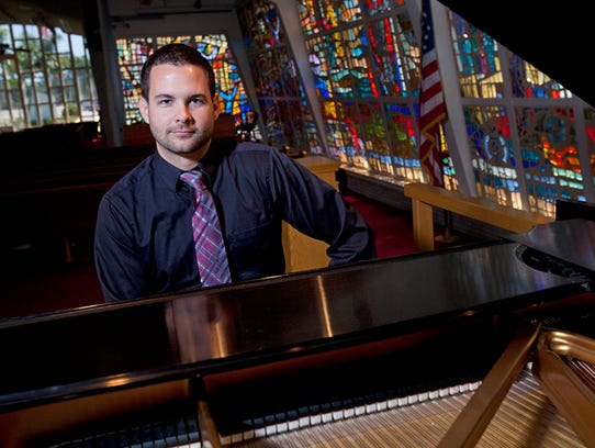 Jacob Craig, director of music and arts at First Presbyterian