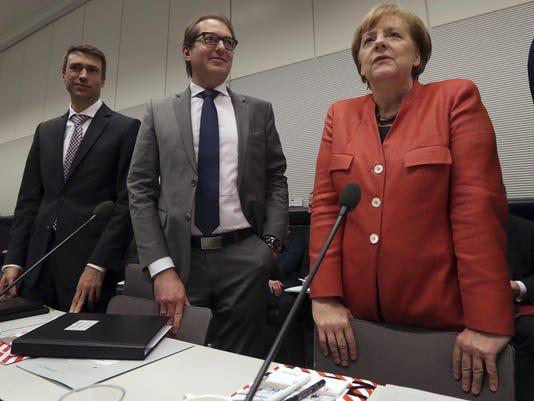 APTOPIX Germany Politics