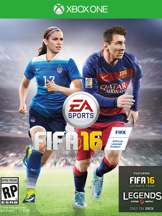 788397570 Alex Morgan to appear on cover of  FIFA 16