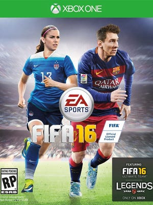 Orlando Pride and Team USA star Alex Morgan is featured on the cover of FIFA 16 alongside Lionel Messi.