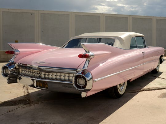 The pink Cadillac has inspired  many expressions of awe, including songs and a movie.