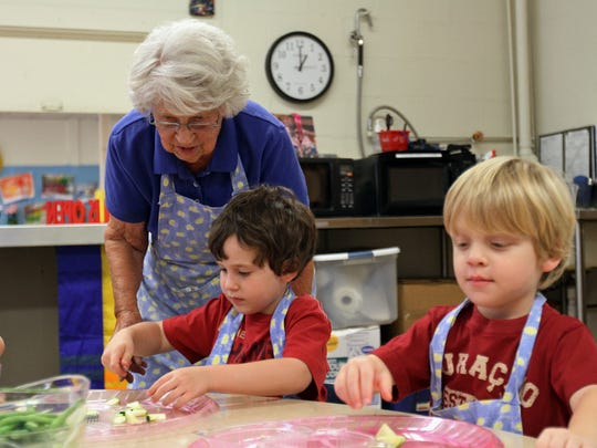 Agnes Zhelesnik, who is called Granny by students and staff at Sundance School in North Plainfield, is pictured in 2014.