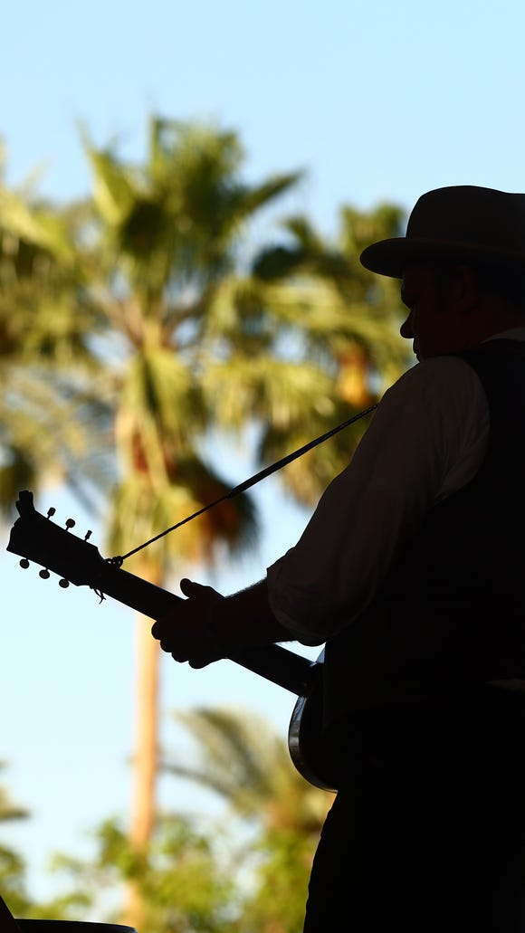 John C. Reilly performs at the 2013 Stagecoach festival.