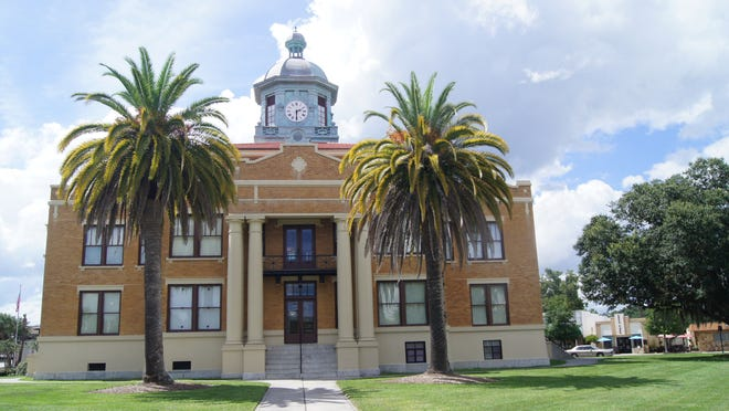 """The town of Inverness has restored its charming 1912 historical courthouse, now the Old Courthouse Heritage Museum, famous for being filmed in the Elvis Presley 1962 film """"Follow that Dream."""""""