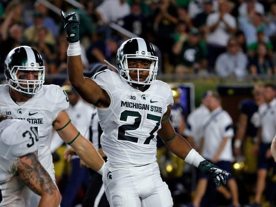 Khari Willis finished third on Michigan State in 2018 with 84 tackles en route to third-team All-Big Ten honors.
