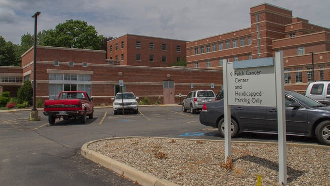 Falck Cancer Center at Arnot Ogden Medical Center in Elmira.
