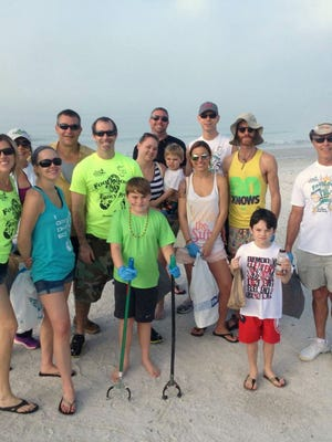 Foot Solutions Estero is organizing its second beach cleanup, scheduled for Saturday on Fort Myers Beach.