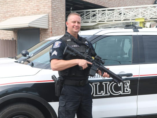 The purchase of eight more custom patrol rifles brings