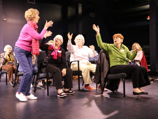 Participants in DreamWrights' stAGEs program will give