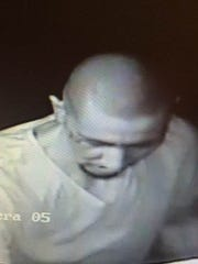 A man was filmed by security cameras during a June 12 burglary at Ben's Grocery in the Segundo Barrio.