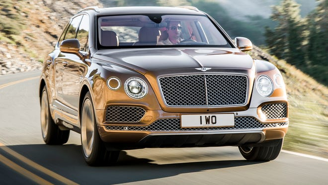 Bentley calls Bentayga the fastest and most exclusive SUV yet