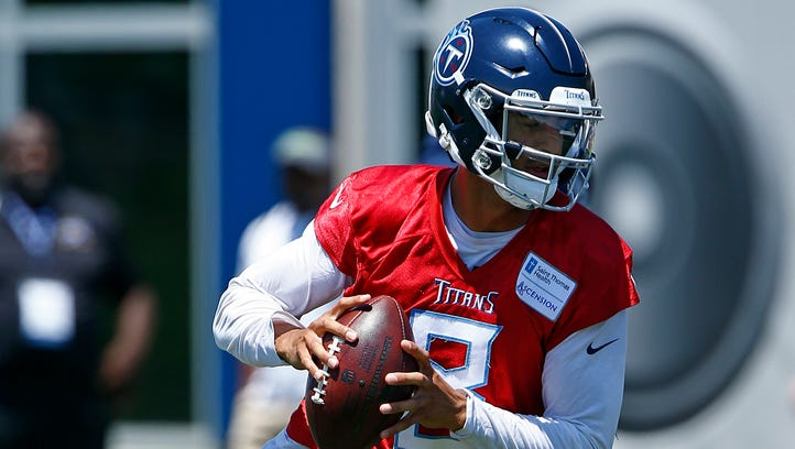 Titans' Marcus Mariota is focusing on something more fundamental than footwork and playbook