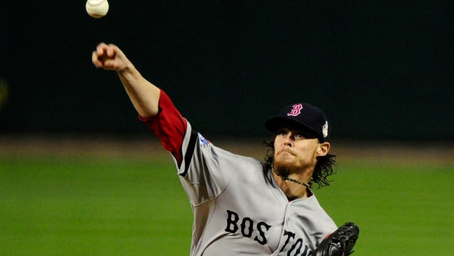 Boston Red Sox starting pitcher Clay Buchholz (11) gave the Sox a solid start when they needed it.