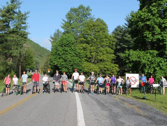 Student environmentalists pedal pipeline route