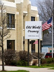 The exterior of Old World Creamery as seen Tuesday April 25, 2017 in Sheboygan, Wis.
