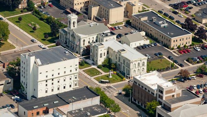 Downtown Elmira.