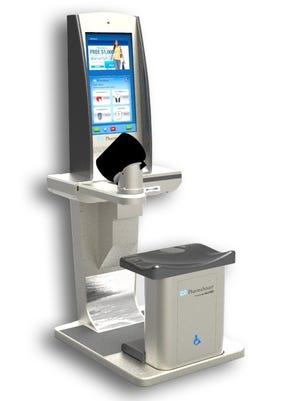 PharmaSmart's Model PS 2000 (D)estination kiosk.