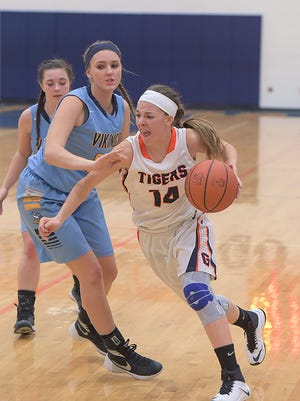 Gabby Kaple will likely lead the Lady Tigers this season as a junior.