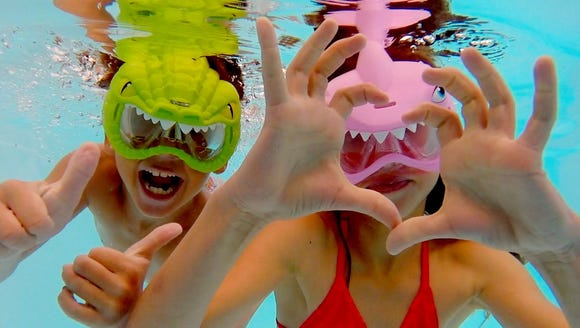 Amloid's 'Aqua Creatures Swim Masks.' Retails for $9.95