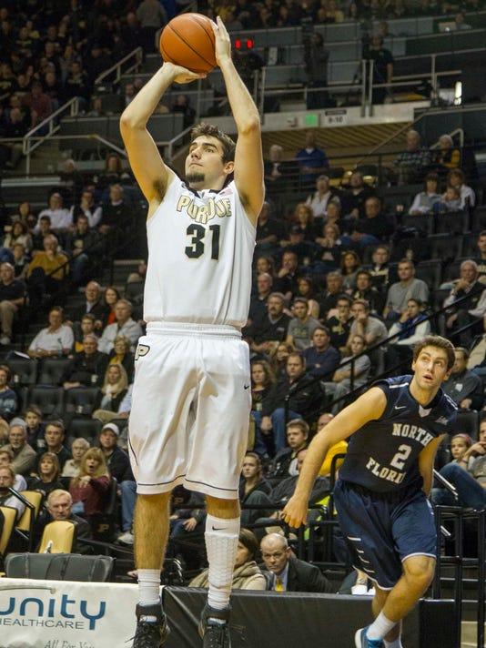 NCAA Basketball: North Florida at Purdue