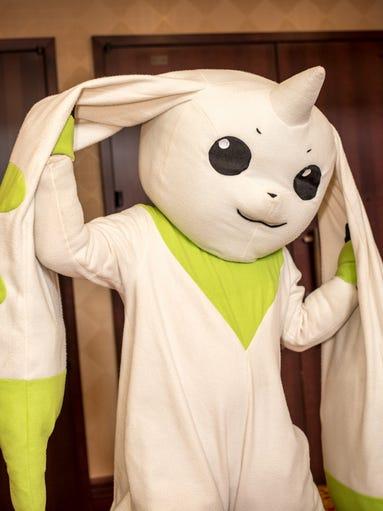 Digimon cosplayer at Zenkaikon 2014.