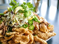 NFL Tailgating Recipe: Pork Rind Nachos