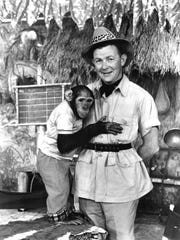 """Don Hunt and Bongo Bailey of """"B'Wana Don in Jungle-La"""" were beloved by Detroit television viewers."""