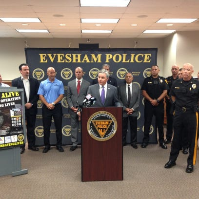 Evesham mayor Randy Brown talks about a new program