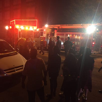 City police are responding to a shooting in the 2500